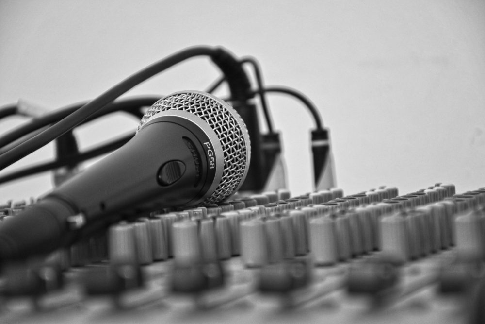 mikrofon studie